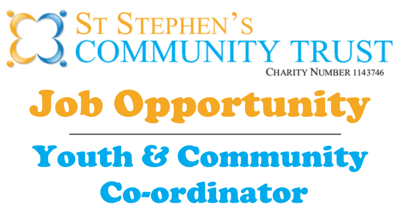 We're Recruiting – Youth & Community Co-ordinator